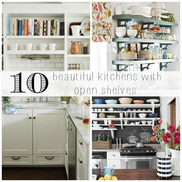 Kitchen Shelf Inspiration: Open Shelving, Open Shelves