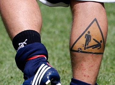 Image result for daniele de rossi tattoo