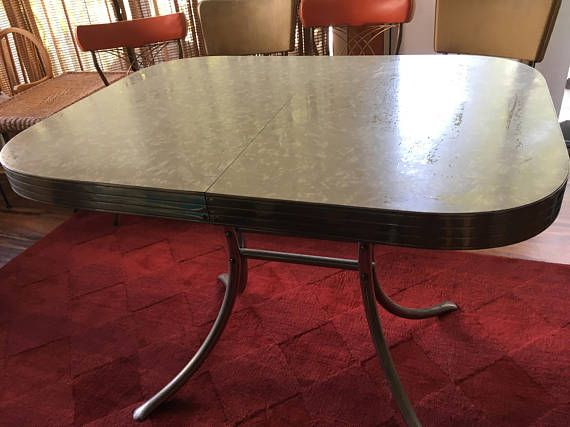Formica Kitchen Table Mid Century Modern 40 By 30 Local Pick Up In