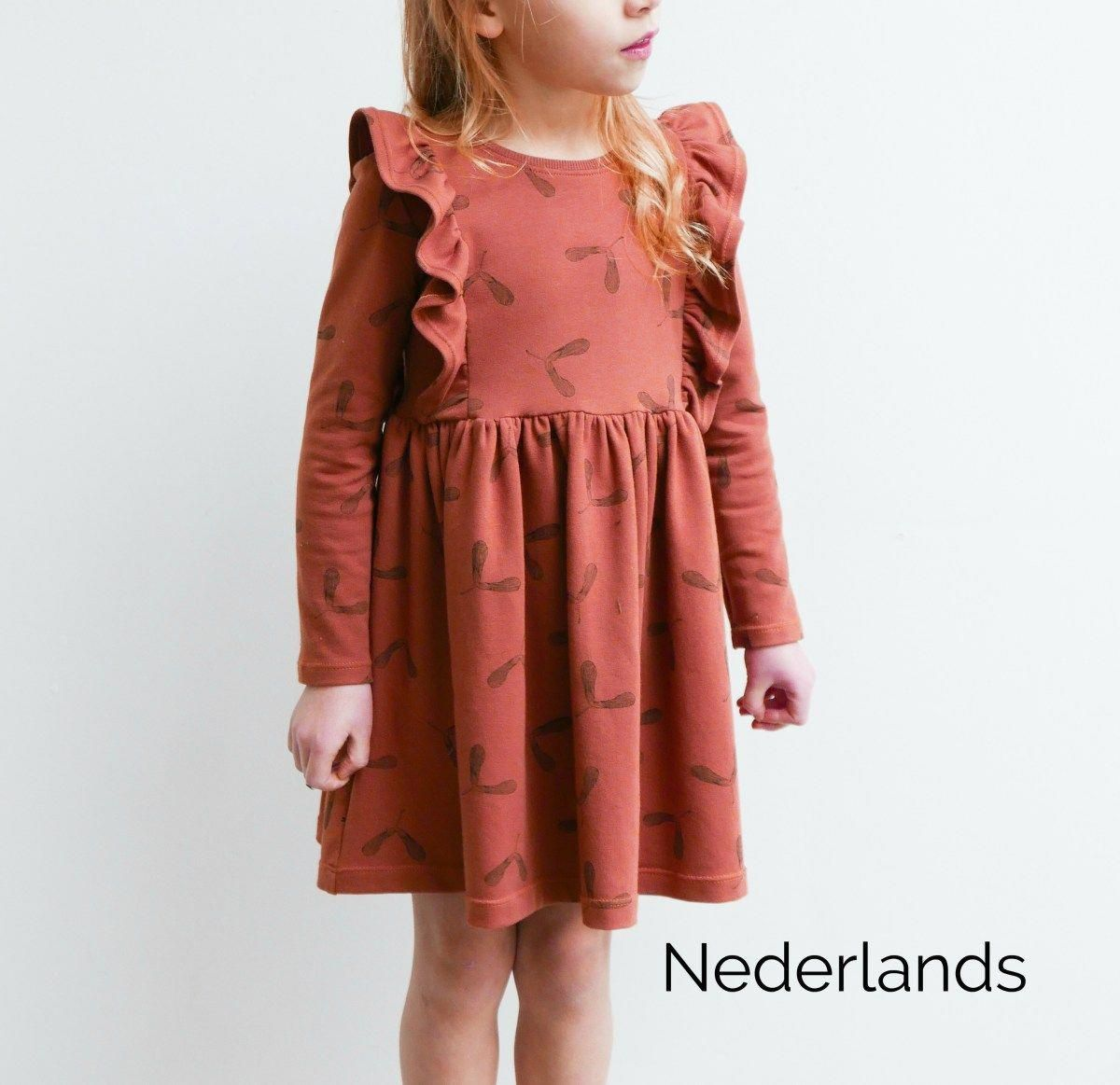 b6f3488e7b467a Millie jurk – PDF patroon 2-12 jaar – Mix it Make it  kidsfashiondiy ...