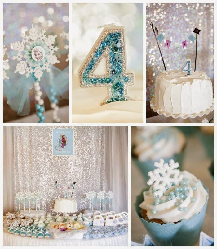 40 ideias para festa Frozen Frozen birthday Frozen party and