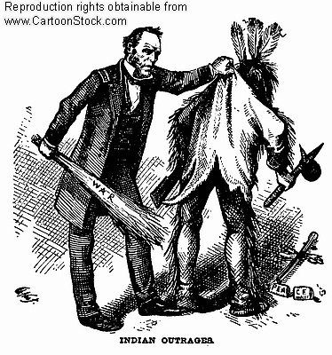 Image result for THE INDIAN REMOVAL ACT CARTOON
