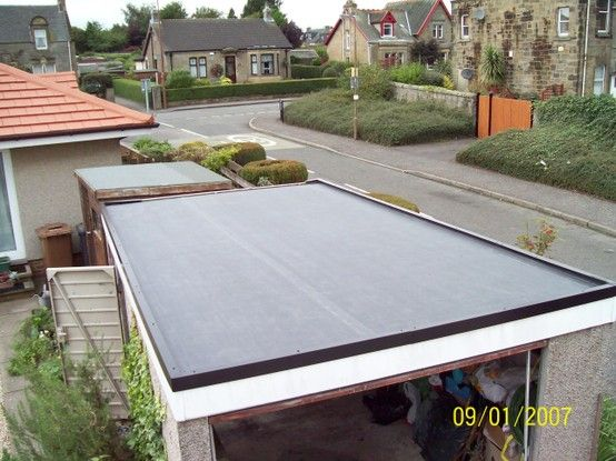 Best Domestic Single Garage Epdm Firestone Roof £1250 400 x 300