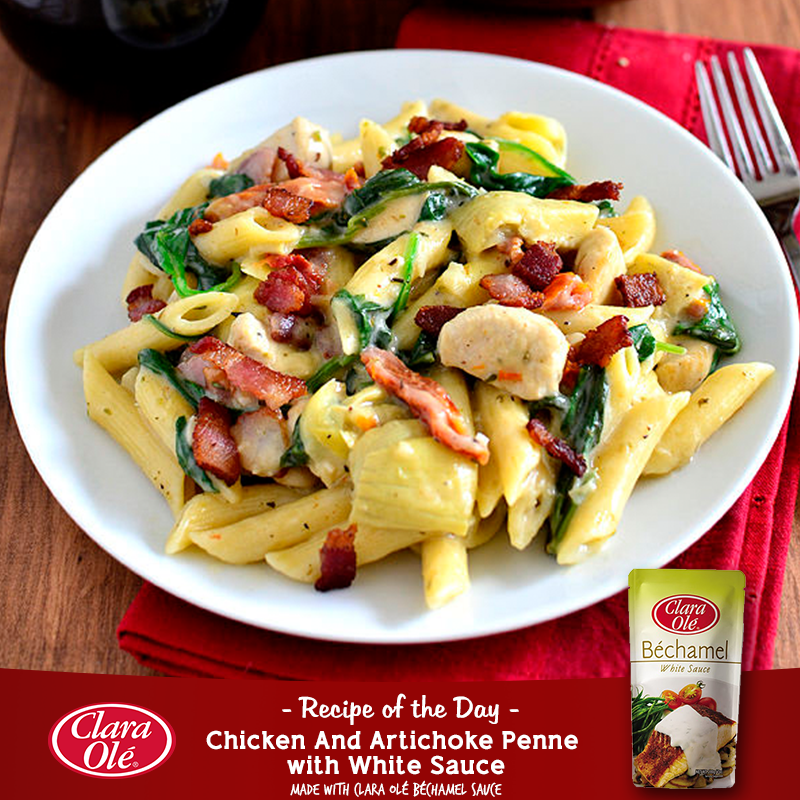 Looking for a unique pasta recipe for your Christmas party? Check out this creamy yet classy penne dish that will surely leave your guests hungry for more!