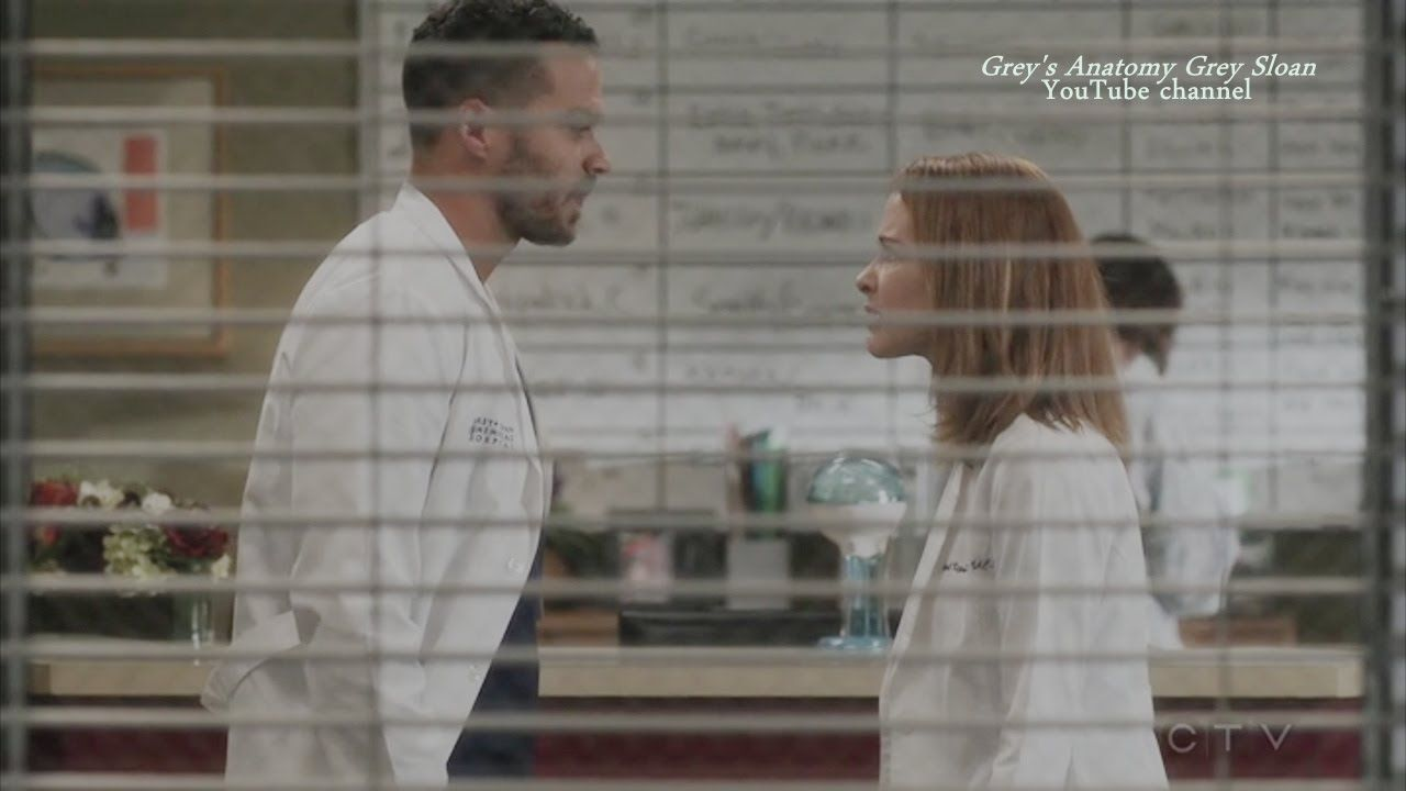 "Grey\'s Anatomy 12x09 April and Jackson Argue ""The Sound Of Silence ..."