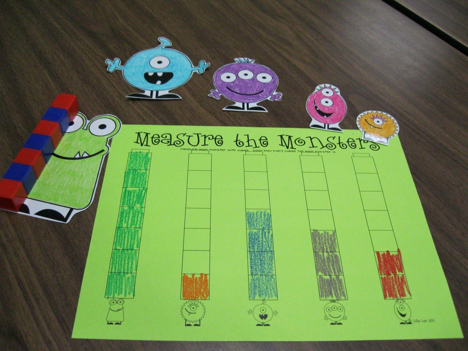 Kindergarten Rocks Monster Centers