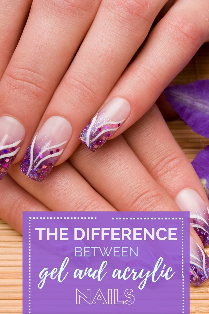 The Difference Between Gel And Acrylic Nails - | Gel acrylic nails ...