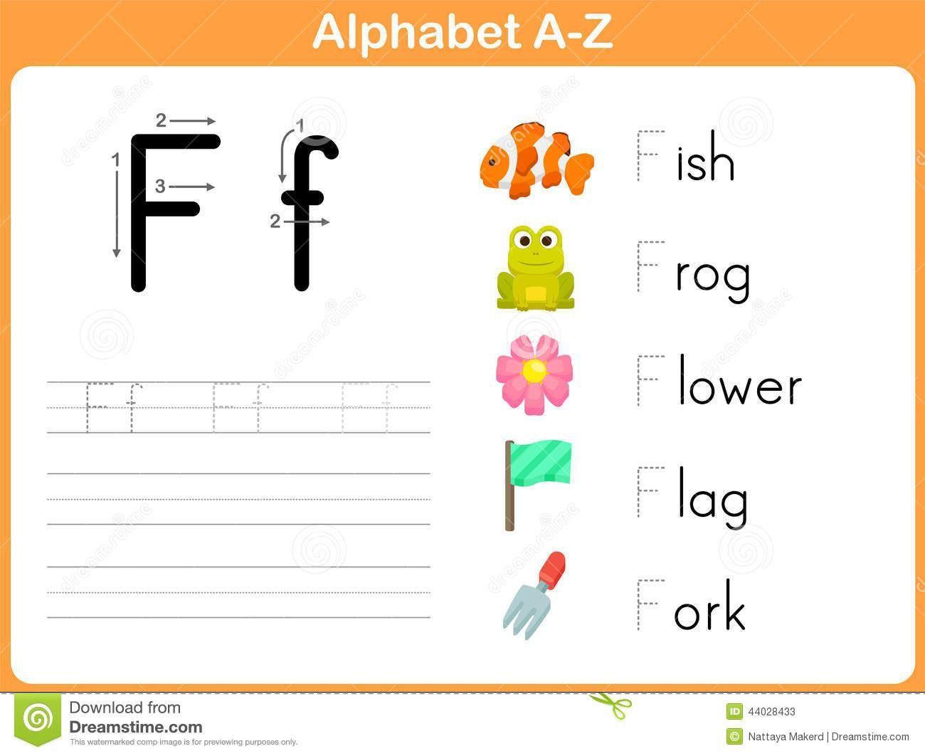 Alphabet Tracing Worksheets For Kindergarten In