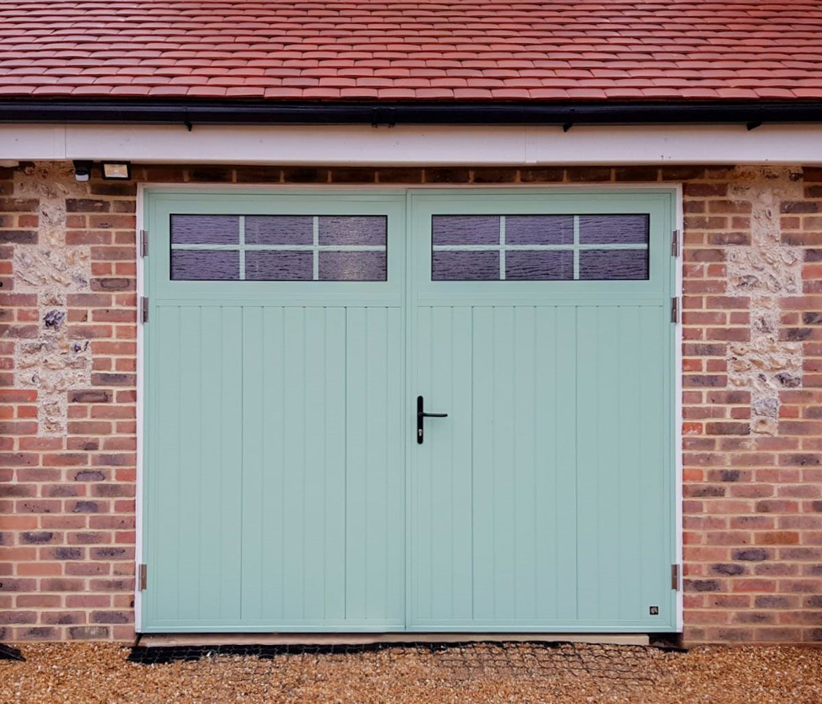 Access Garage Doors Garage Door Repairs Installation Automation Throughout London And South East Side Hinged Garage Doors Garage Doors Garage Door Design