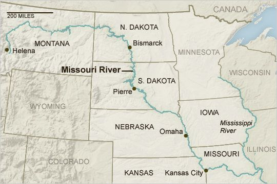 Missouri River On Map map of missouri river     Yahoo Image Search Results | Geography  Missouri River On Map
