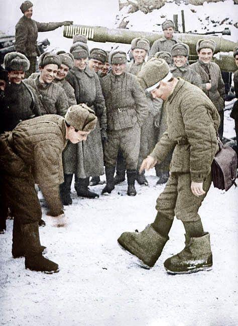 Цветные фотографии советских солдат во Второй Мировой (73 ...