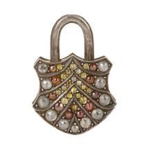 Sevan Bicakci Diamond Padlock Charm