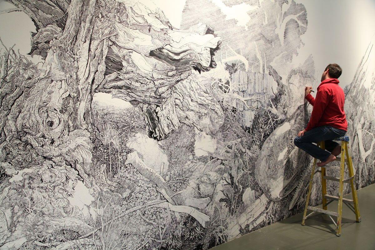 36 ft sharpie mural finally finished sharpie art artsy and sharpie mural finally finished