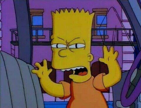 Bart No Quiero Asustarte Pero Quiero Decirte Que Te Extrano Y