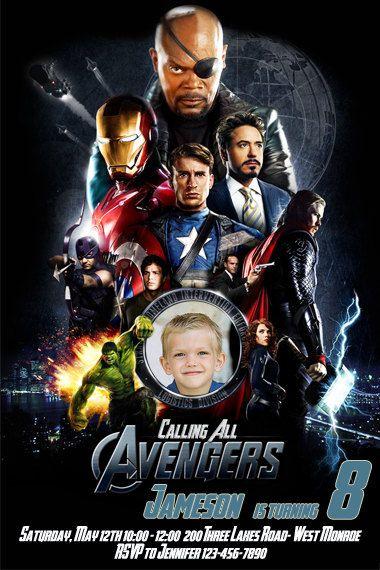 The Avengers Birthday Party Full kit