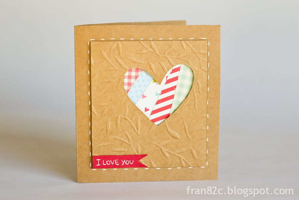 Cards by Fran - Dia dos Namorados #card #scrapbook #valentinesday