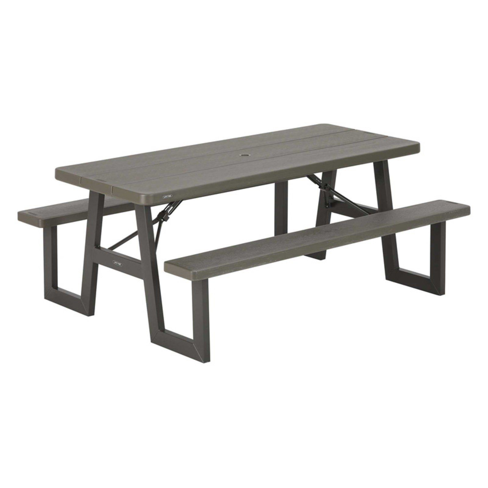 - Outdoor Lifetime 6 Ft. W-Frame Folding Picnic Table Products In