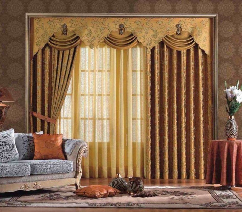Royal Curtain Design With Luxury Interior Asian Style Curtains Living Room Window Curtains Living Room Curtain Designs