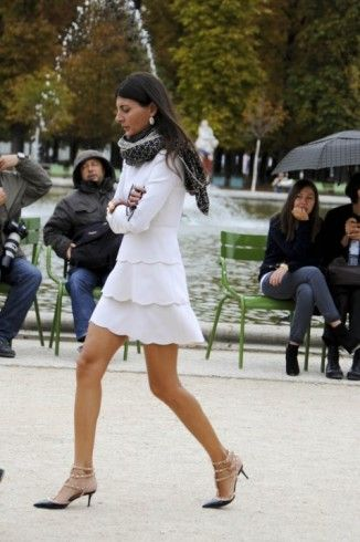 4c7fa9a9766761 Valentino Studded Kitten Heels Fall Winter 2011  Black  - Giovanna  Battaglia s Closet - I Want To Be A Battaglia