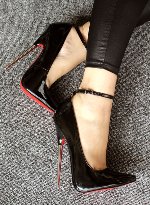 Question 6 inch fetish pumps pointed toe properties