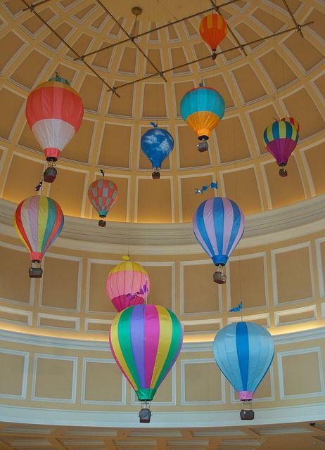 Bellagio Shops Hot Air Balloon Decorations 1 Hot Air Balloon Decorations Hot Air Balloon Party Decorations Hot Air Balloon Party