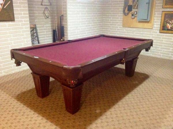 Great Pool Table Chicago   Used Slate Pool Tables Chicago