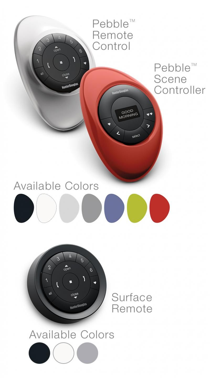 This controller lets you control 4 different branches of lights - Hunter Douglas Powerview Motorization Wireless Motorization Lets You Control And Schedule Your Window Treatments From Your Smartphone Tablet