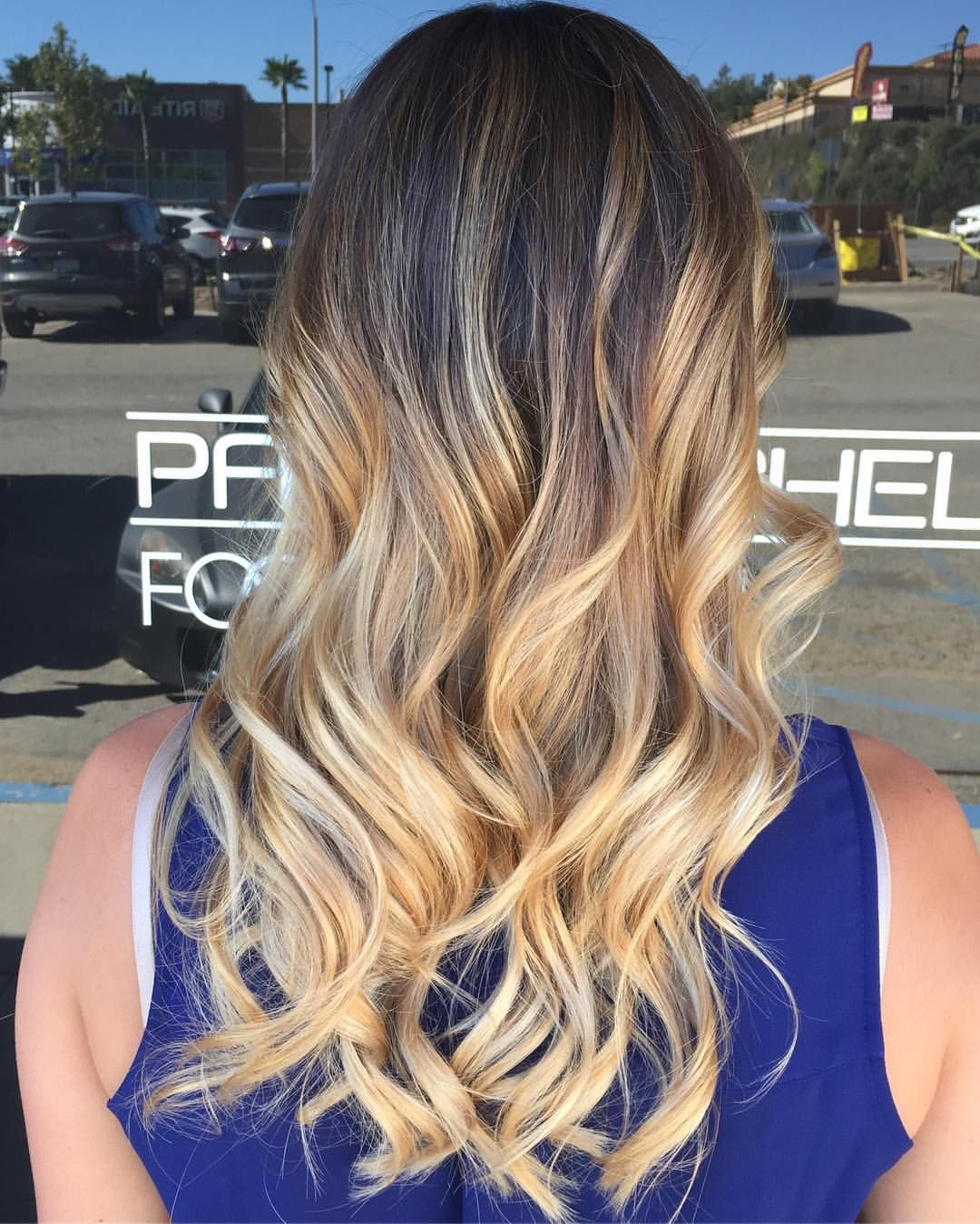 #balayage #paulmitchell #blondehair