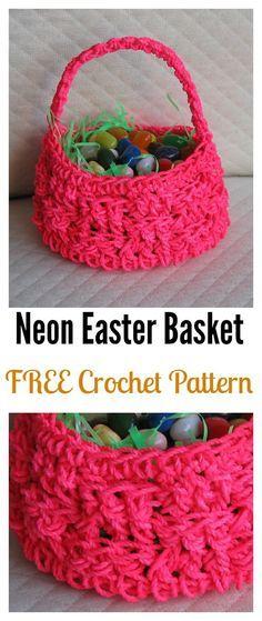 Crochet Easter Basket Free Patterns Easter Baskets Free Pattern