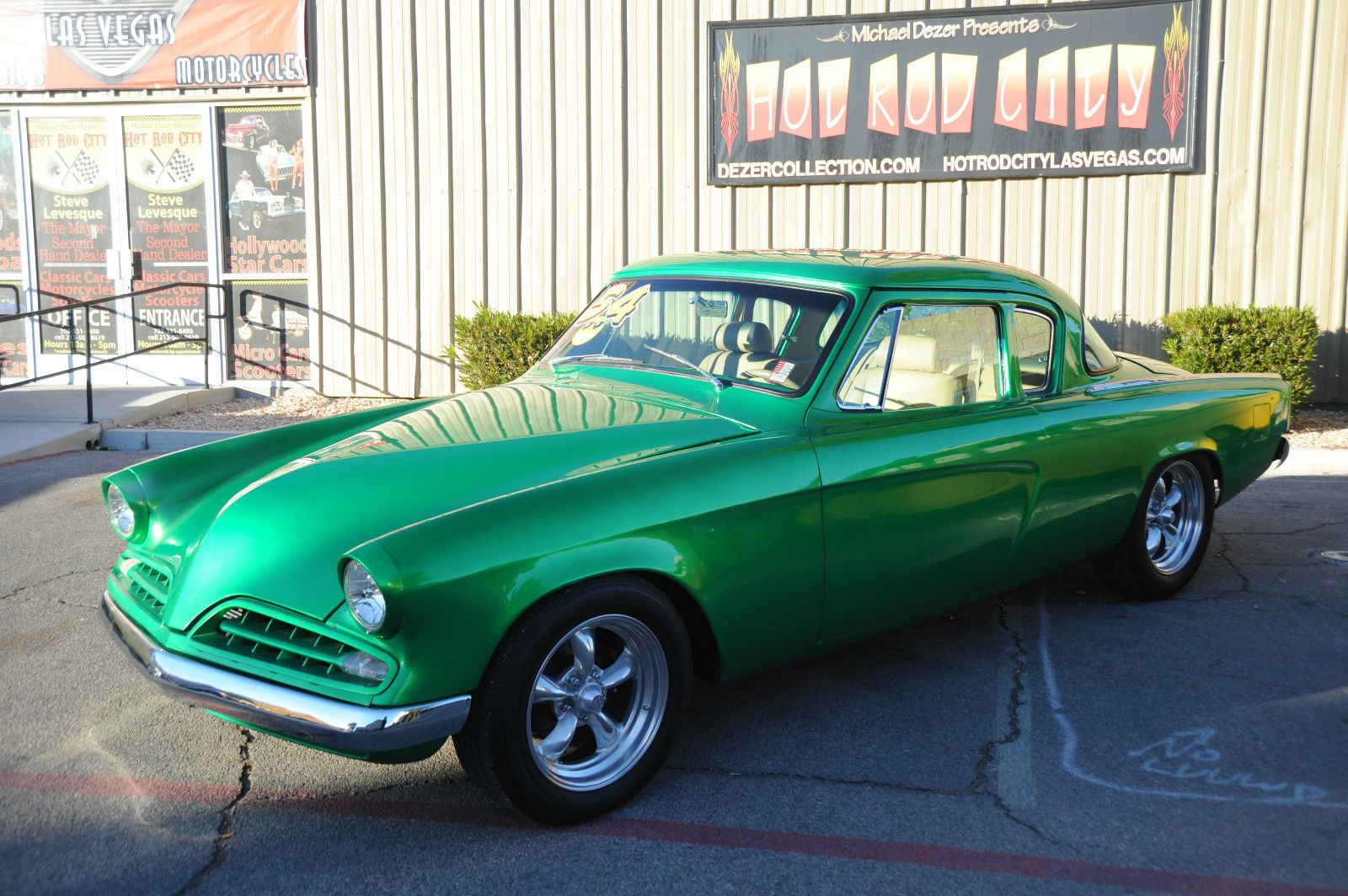 1954 Studebaker Commander Resto Mod Mopar Power Custom Interior ...