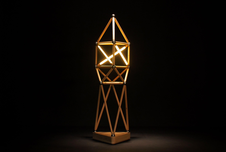 Tika Light Tower Lamp Made With Tika The Modular Building Kit Soon On Kickstarter Design Modular Building Modular