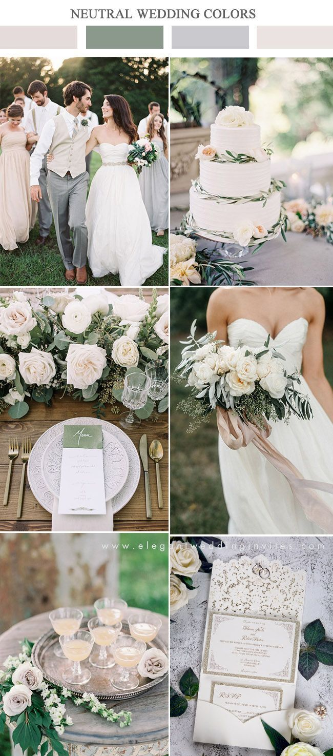 10 wunderschöne neutrale Hochzeits-Farbkombinationen zum Inspirieren - #HochzeitsFarbkombinationen #Inspirieren #neutral #Neutrale #wunderschöne #zum #peachideas