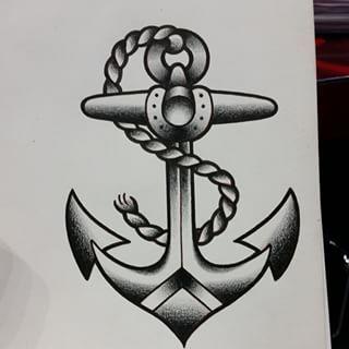 anchor tattoo traditional - Buscar con Google | tatto ...