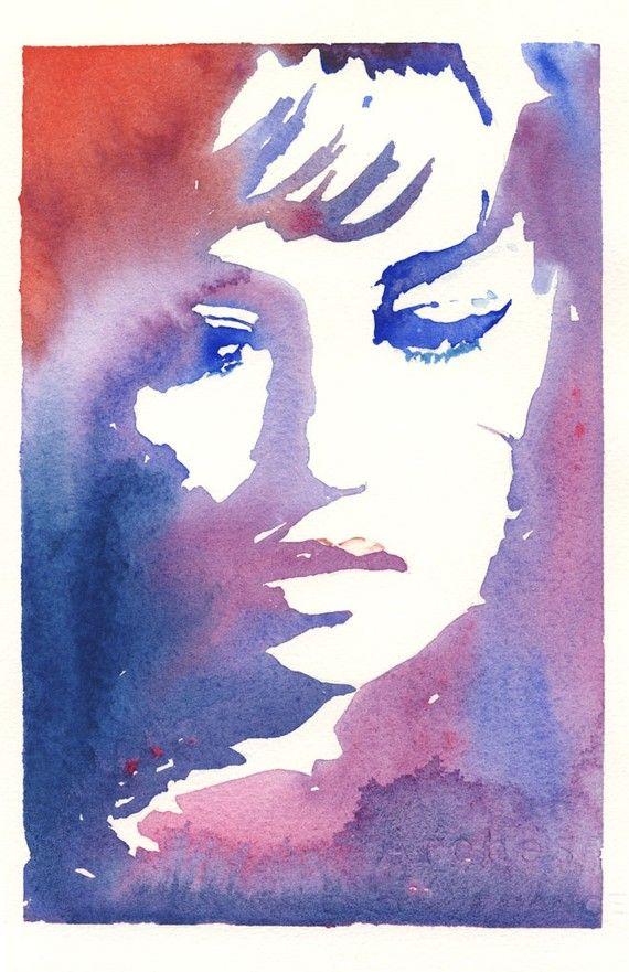 Watercolour Mode Aquarelle Visage A L Aquarelle Les Arts