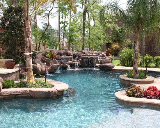 Tropical Pool Design Back yard Pinterest Piscinas, Albercas y