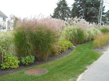 Portland Maine Ornamental Grass Landscape Design Ideas Pictures