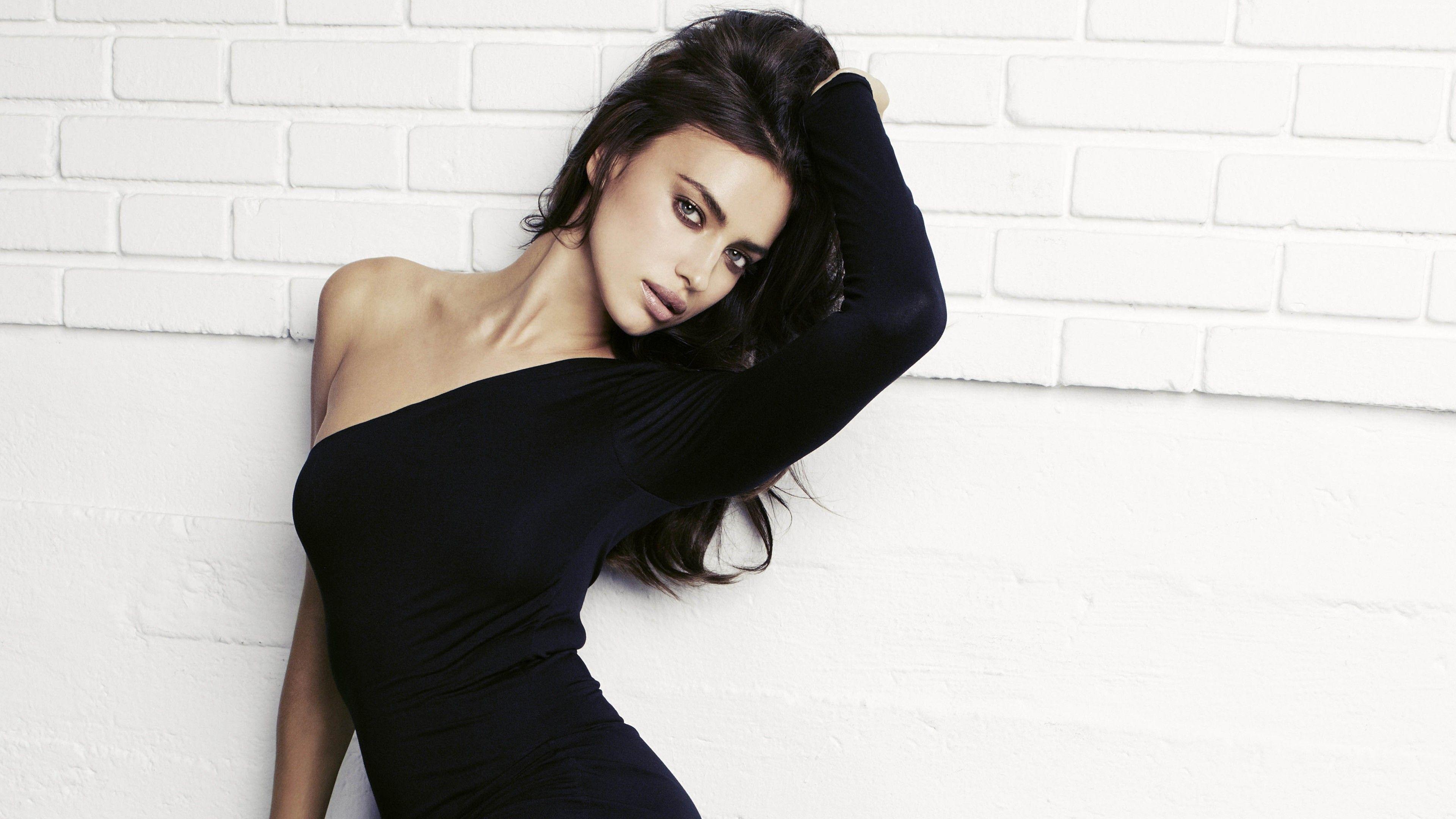 wallpaper irina shayk, top fashion models, model, brunette, sport