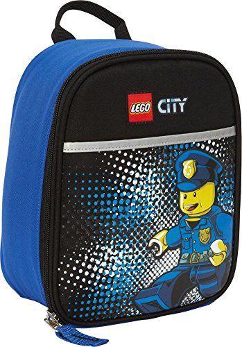 Lego City Vertical Lunch Bag Policeman Minifigure Http Www Rekomande