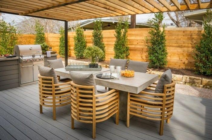 Garden Design Ideas Al Fresco Dining Area Outdoor Kitchen