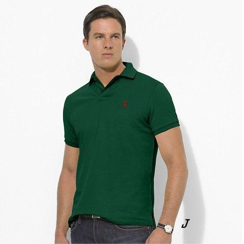 dark green ralph lauren polo shirt