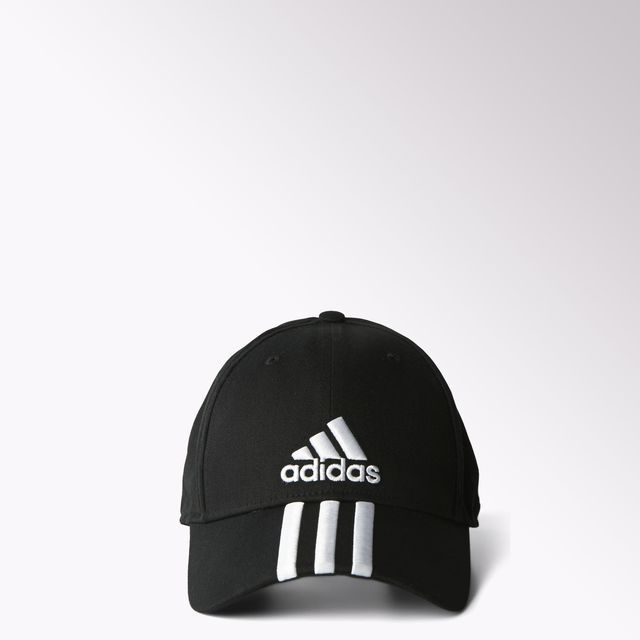 adidas Performance 3-Stripes Cap - Black  e4464d0cb6e2