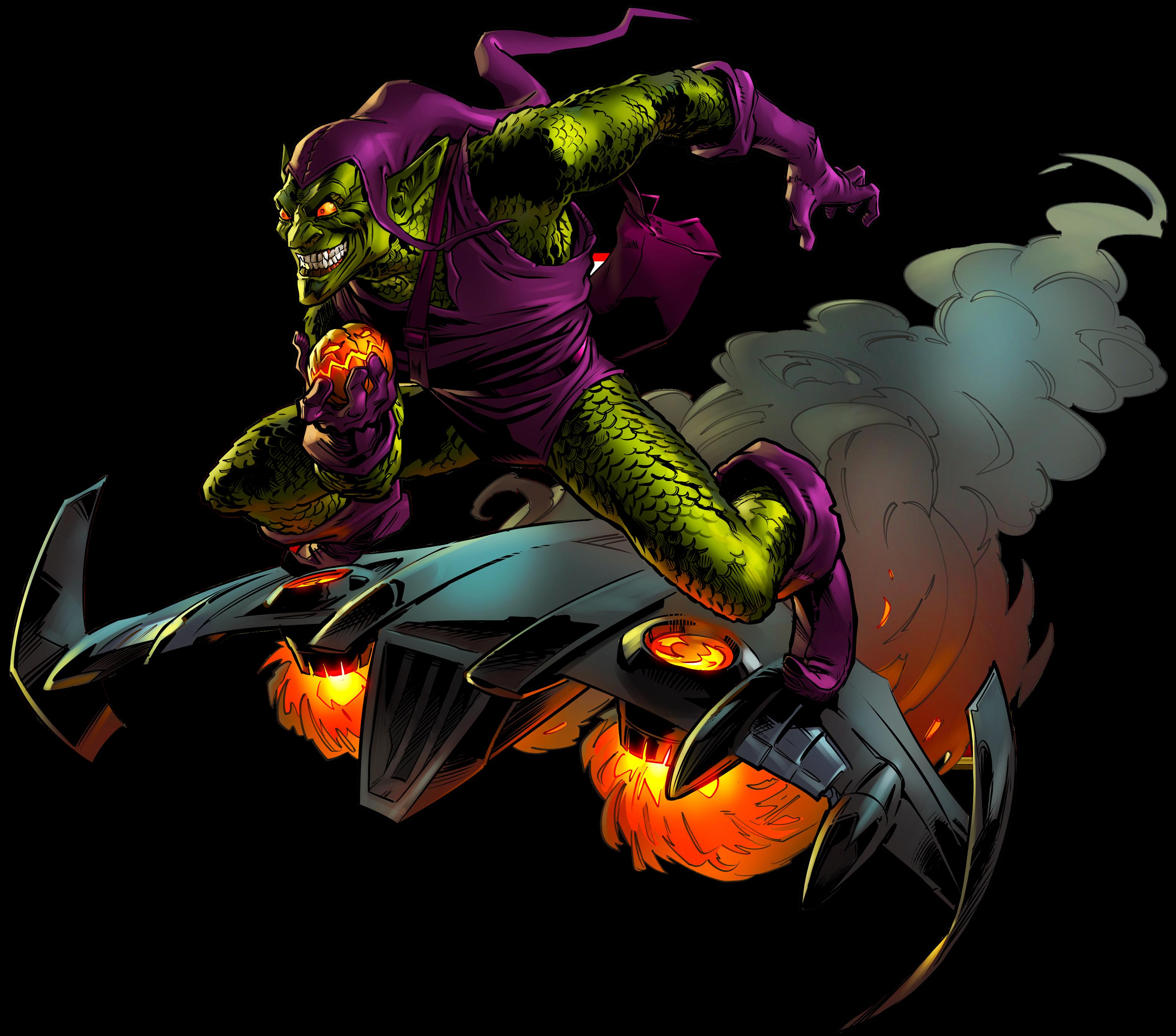 Green Goblin 2 By Alexelz Green Goblin Green Goblin Spiderman Goblin