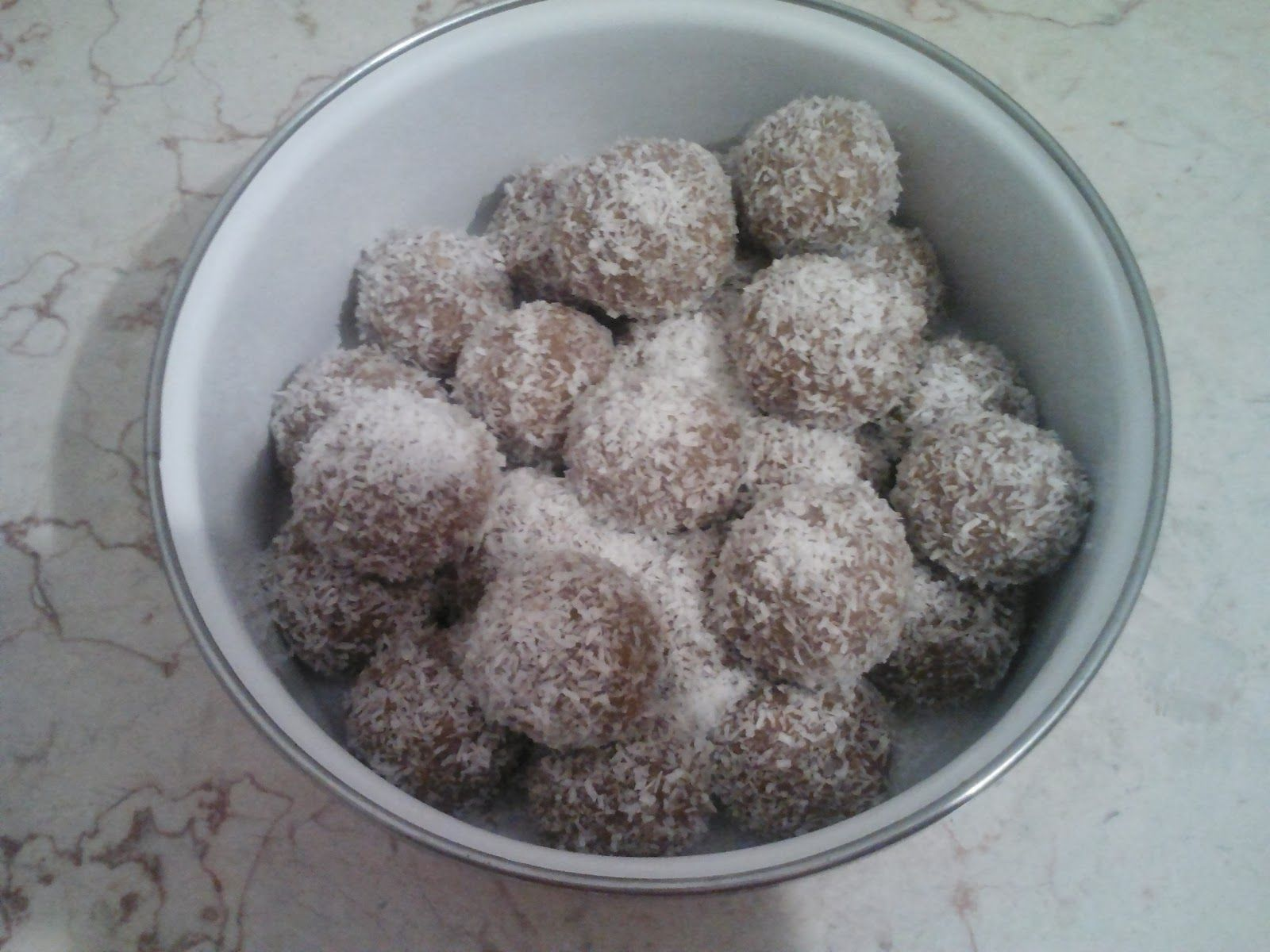 Fabulous Vegan Tahini and Peanut Butter Balls. A simple recipe for about 20 balls; takes about 15 minutes. http://www.joabcohenauthor.com/2014/03/vegan-tahini-and-peanut-butter-balls.html#more