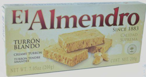 El Almendro Soft Almond Turron 7oz (2…