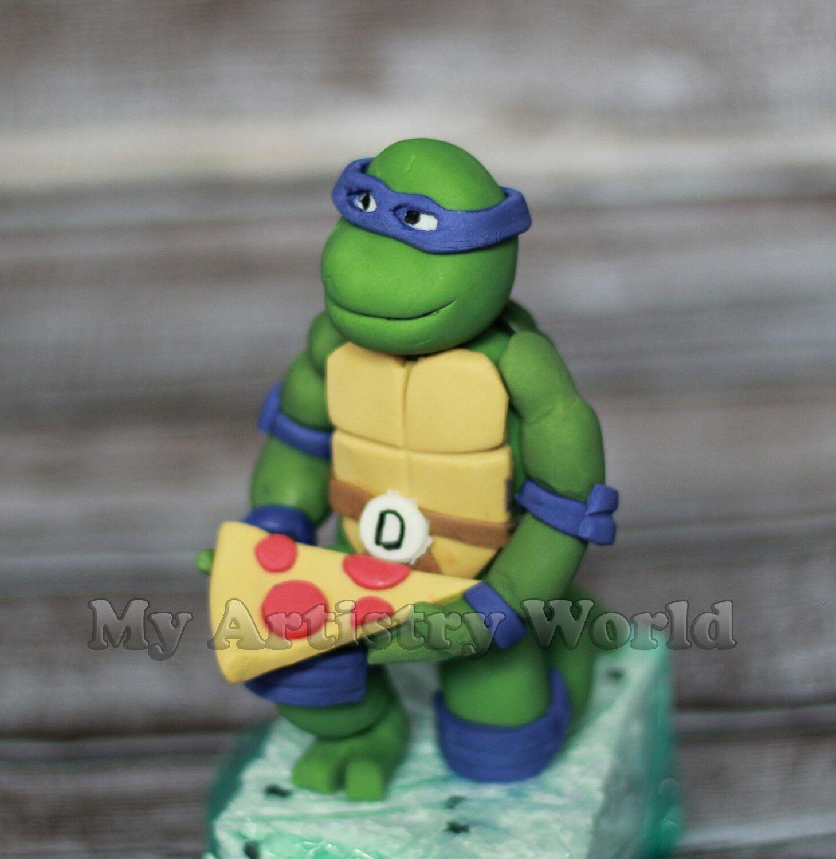 Ninja Turtle Ninja Turtle Cake Ninja Turtle Cake Topper Turtle Cake