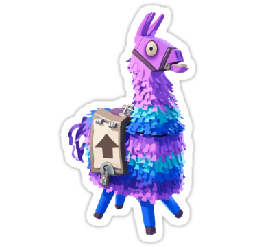 Fortnite Llama Stickers By Doncoupon Redbubble Stickers Fortnite Birthday Party Planning