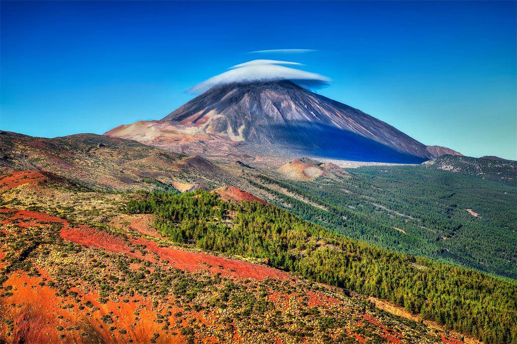 Mount Teide Canary Islands Lugares Desej 225 Veis