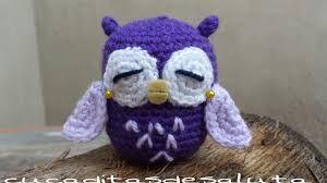 Resultado de imagen para lechuzas amigurumis en crochet