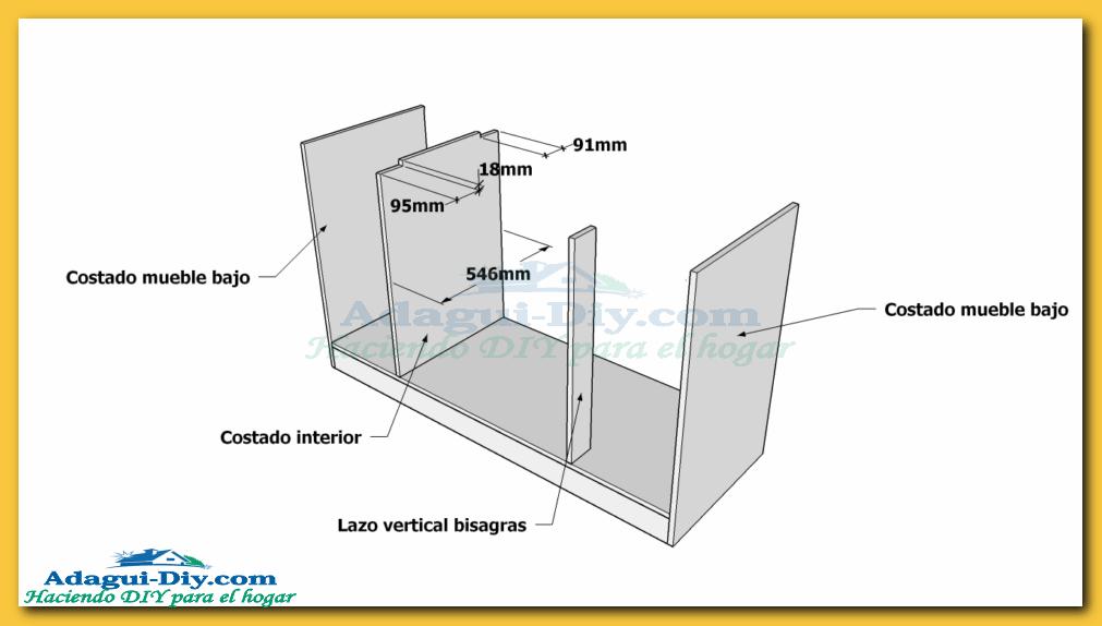 Muebles de mdf planos 20170831062956 for Plano alacena melamina