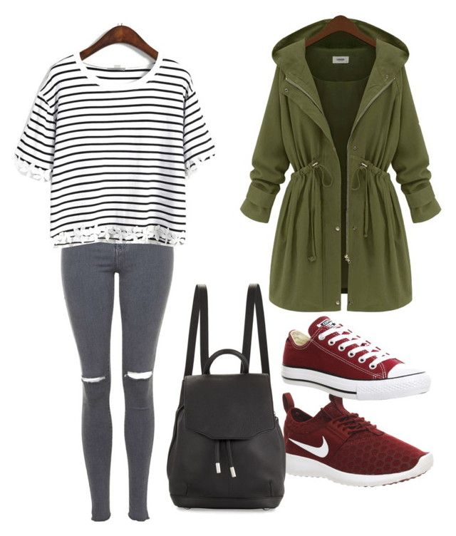 """""""Untitled #65"""" by jkal-shirazi on Polyvore featuring Topshop, NIKE, Converse and rag & bone"""